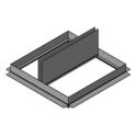 Wood Truss Ceiling Radiation Damper (Field Supplied Plenum)