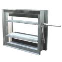 Formed Steel Frame & Airfoil Blade Damper, Class I thru III