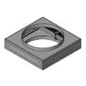 Square and Round Ceiling Damper