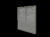 EL-1-FR PTAC Grille With Box Frame