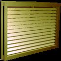 EL-1-GL PTAC Grille With Glazing Frame
