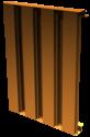 """2-3/8"""" Deep Vertical Blade Aluminum Equipment Screen"""