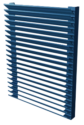 "2"" Deep Aluminum Equipment Screen"