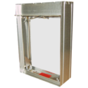 Curtain Fire Damper - 1-1/2 & 3 Hour - Static - Optional Sleeve -