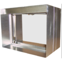 Curtain Fire Damper - 1-1/2 & 3 Hour - Static - Integral Sleeve