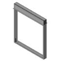 Slimline Curtain Fire Damper - 1-1/2 & 3 Hour - Dynamic or Static - Optional Sleeve