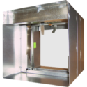 Curtain Fire Damper - 1-1/2 & 3 Hour - Dynamic or Static - Integral Sleeve