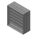 Combination Fire/Smoke Damper with Sleeve