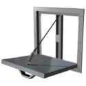 Manual Pressure Relief Door