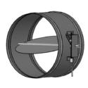 Round Single Blade Damper