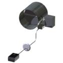 Single Blade Round Power/Balance™ Damper